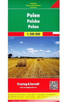 Polska mapa 1:500 000 Freytag & Berndt