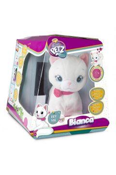 Maskotka interaktywna Kotek Bianca Club Petz
