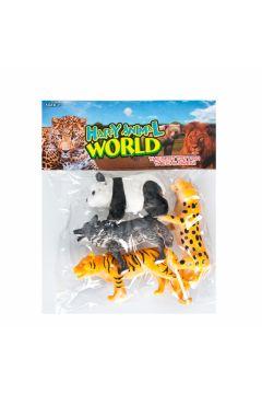 Zwierzęta Dzikie figurki MEGA CREATIVE 465424