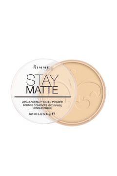 Stay Matte Long Lasting Pressed Powder puder prasowany 001 Transparent