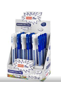 Długopis wymazywalny EasyWay nieb. (24szt) EASY