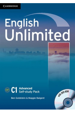 English Unlimited Advanced Self-study Pack Workbook + DVD