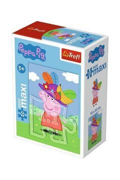 Puzzle 20 miniMaxi - Zabawy Świnki Peppy 4 TREFL