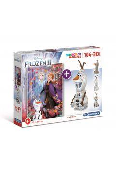 Puzzle 104 3D model Frozen 2