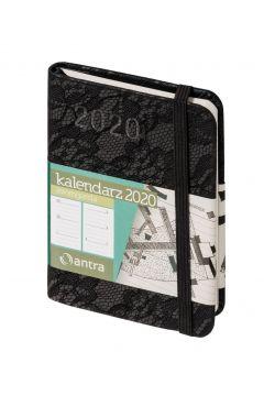 Kalendarz 2020 Awangarda A7 czarny TDW