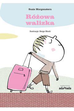 Różowa walizka