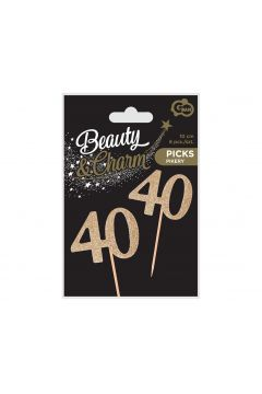 Świeczki urodzinowe 40