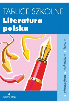 Tablice szkolne Literatura polska