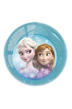 Frozen. Piłka z brokatem. Niebieska