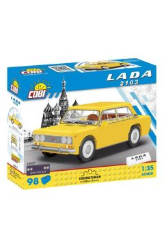 COBI 24527 Youngtimer LADA 2103 98 klocków