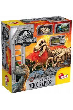 Jurassic World szkielet Velociraptora
