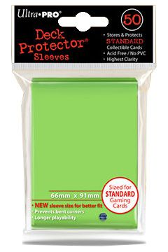 ULTRA-PRO Deck Protector - Solid Lime Green (limetka) 50 szt.