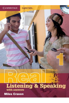 Cambridge English Skills Real 1 Listening and Speaking with answers + 2CD
