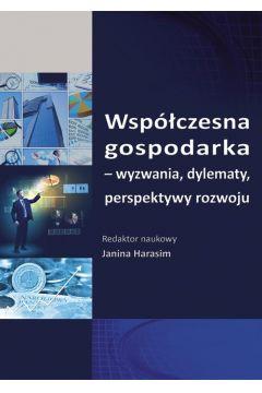 Współczesna gospodarka - wyzwania, dylematy, perspektywy rozwoju. SE 93