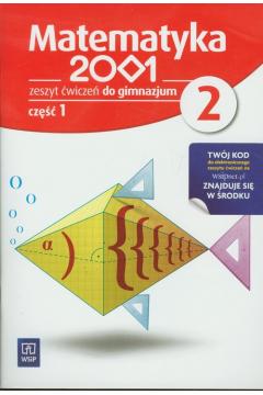 Matematyka 2001. Klasa 2. Ćwiczenia, część 1