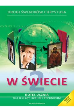 Religia 2. Drogi świadków Chrystusa. Notes ucznia