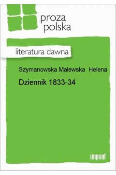 Dziennik 1833-34