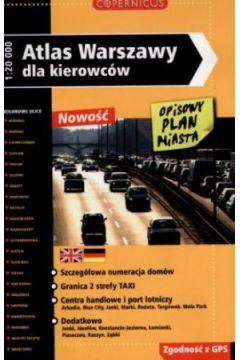 Atlas Warszawy dla kierówców - praca zbiorowa