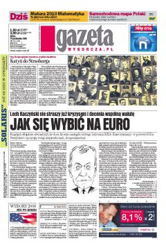 Gazeta Wyborcza - Kielce 254/2008