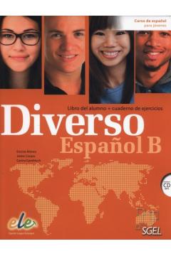 Diverso Espanol B Libro del alumno + Cuaderno de ejercicios + CD