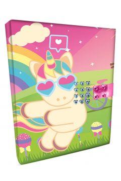 Pamiętnik zamykany na kod Sweet Dreams KL10866