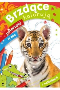 Brzdące kolorują. Zwierzaki w zoo