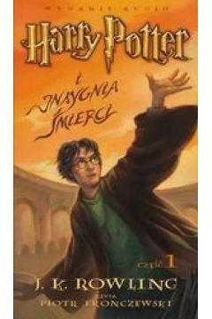 Harry Potter 7 Insygnia Śmierci - J.K. Rowling CD