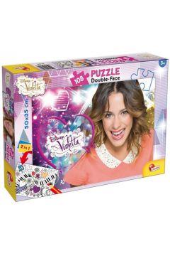 Puzzle dwustronne 108 Violetta