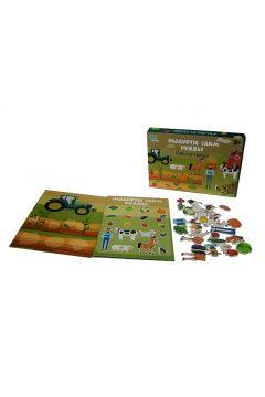 Plansza magnetyczna Farma 28-elementów