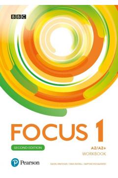 Focus Second Edition 1. Workbook + kod (MyEnglishLab + Online Practice)