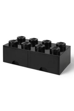 Podwójna szuflada klocek do przechowywania z 8 wypustkami