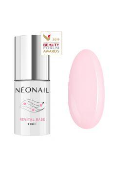 NEONAIL_Professional Revital Base Fiber wzmacniająca baza do lakieru hybrydowego Rosy Blush