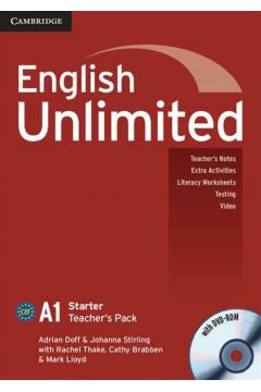 English Unlimited Starter Teacher's Pack +DVD