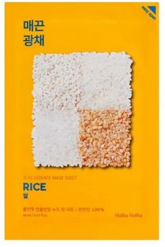 Pure Essence Mask Sheet Rice regenerująca maseczka z ekstraktem z ryżu