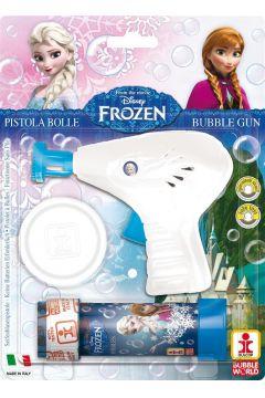 Pistolet do robienia baniek mydlanych Frozen
