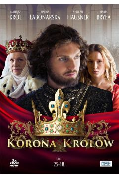 Korona królów. Sezon. 1 Odcinki. 25-48 (3 DVD)