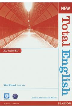 Total English New Advanced WB with key +CD PEARSON