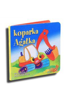 Wesołe Pojazdy - Koparka Agatka . LIWONA