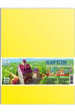 Karton kolorowy dwustronny A4/10K 200g/m2 FRESH