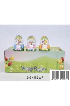 Ozdoba dekoracyjna kula wodna Jajo 1336E