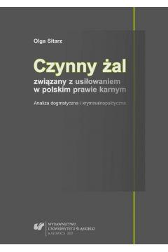 Czynny żal związany z usiłowaniem w polskim prawie karnym