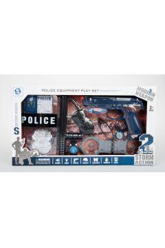 Zestaw policyjny MEGA CREATIVE 460210