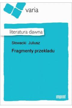 Fragmenty przekładu