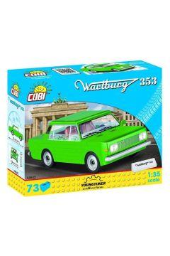 Cars Wartburg 353 73 klocki