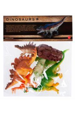 Zwierzęta Dinozaury  figurki MEGA CREATIVE 463242