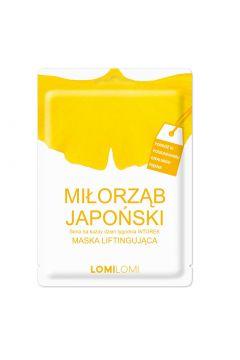 Maska liftingująca na wtorek Miłorząb Japoński
