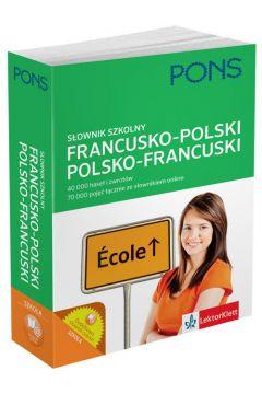 Słownik szkolny francusko-polski, polsko-francuski