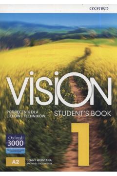 Vision 1. Student`s Book. Podręcznik dla liceów i techników
