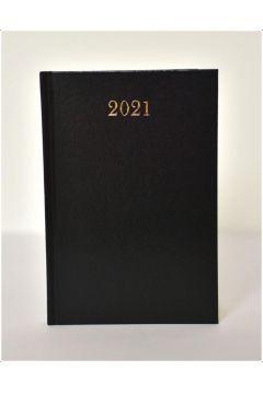Kalendarz 2021 Dzienny A5 Divas Czarny