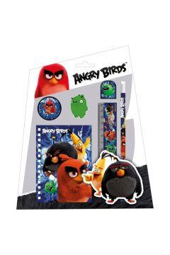 Zestaw 6 przyborów szkolnych Angry Birds 13 DERFORM